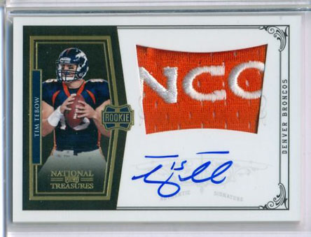 Big Time Hits: 2010 National Treasures Football  58