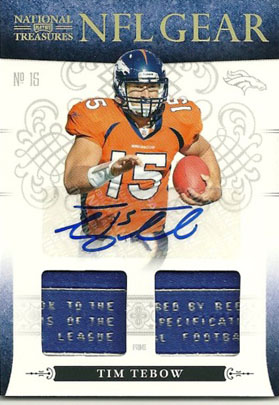 Big Time Hits: 2010 National Treasures Football  21
