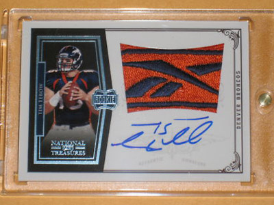 Big Time Hits: 2010 National Treasures Football  6