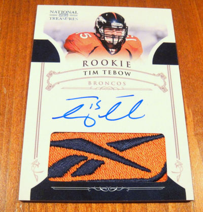 Big Time Hits: 2010 National Treasures Football  55