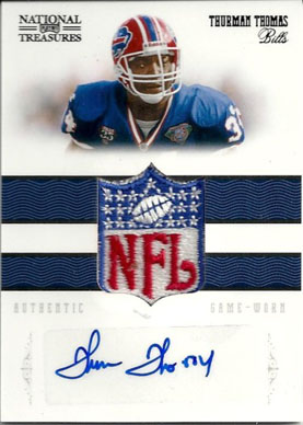 Big Time Hits: 2010 National Treasures Football  1