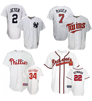 Top 20 MLB Jersey Sales From the 2010 Baseball Season 3