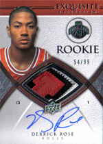 Derrick Rose Rookie Card Gallery 34