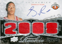 Derrick Rose Rookie Card Gallery 52