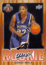 Derrick Rose Rookie Card Gallery 32
