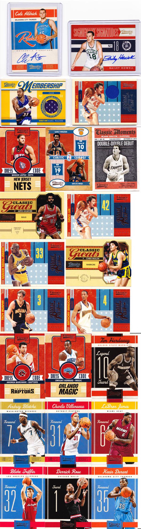 2010-11 Panini Classics Basketball Review 10