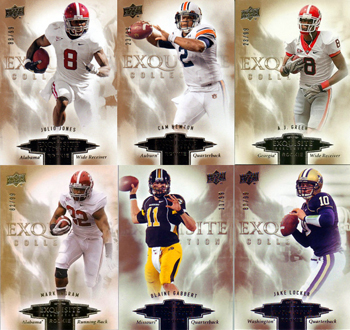 2011 Rookie Class Hidden Within 2010 Exquisite Collection 1