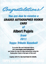2011 Topps Tribute Baseball Review 8