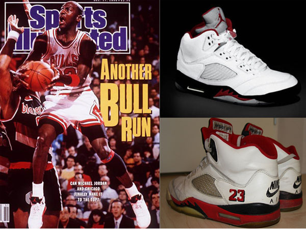 90s air jordan shoes