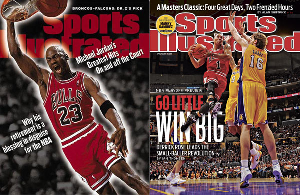 Rose Becomes First Bulls Star to Appear On Sports Illustrated Cover Since Jordan 1