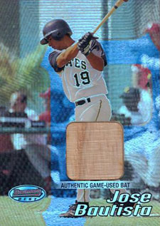 Jose Bautista Rookie Card Checklist 1