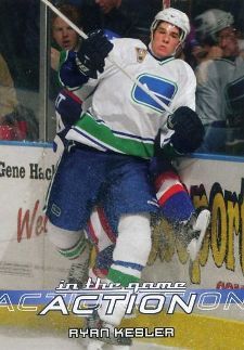 Ryan Kesler Rookie Card Checklist 1
