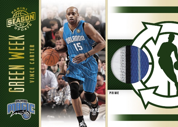 2010-11 Panini NBA Season Update Basketball 5