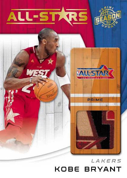 2010-11 Panini NBA Season Update Basketball 1