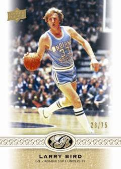 2011 Upper Deck All-Time Greats Basketball 2