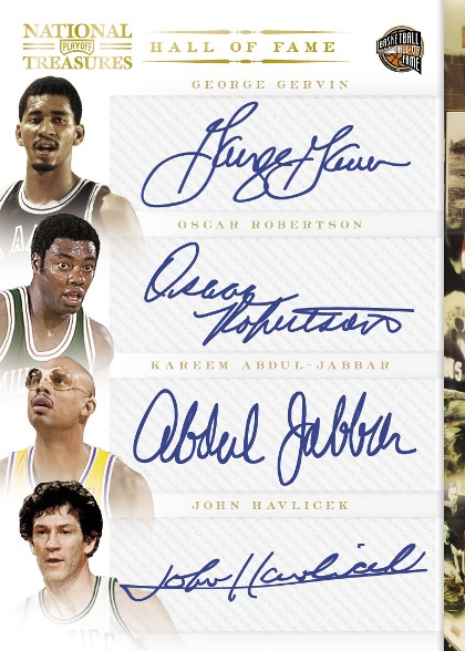 2010-11 National Treasures Basketball 5