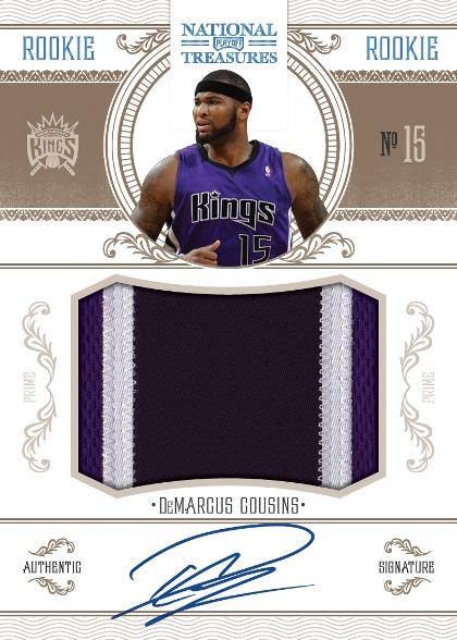 2010-11 National Treasures Basketball 11