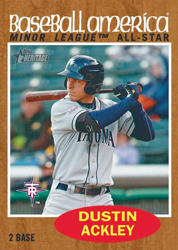 2011 Topps Heritage Minor League Baseball 5