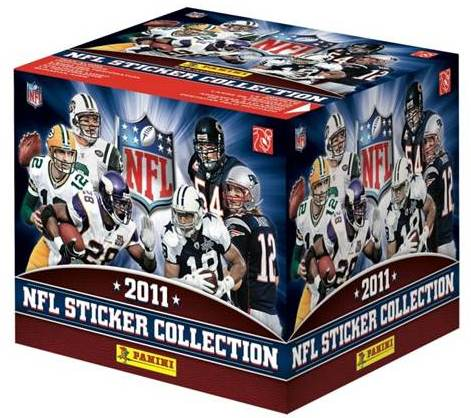 2011 Panini NFL Sticker Collection 3