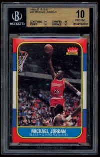 Michael Jordan Rookie Card Sells For $100,000 1
