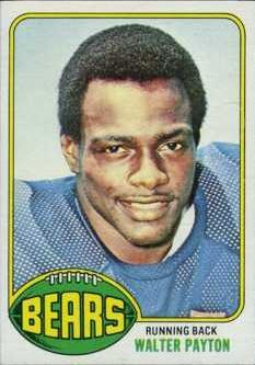 Walter Payton Football Cards: Rookie Cards Checklist and Buying Guide 1