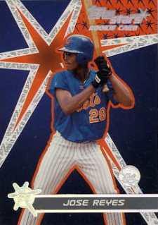 2001 Topps Stars Jose Reyes RC