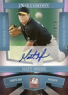 Matt Moore Baseball Cards Soar After Leading Rays in ALDS 1