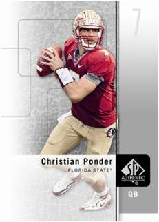 2011 SP Authentic Football 1