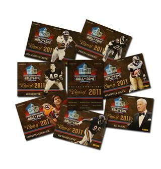 New 2011 Panini Hall of Fame Induction Football Card Set Announced 1