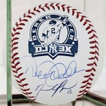 David Price Signs Derek Jeter Memorabilia For Steiner Sports 1