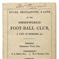 Oldest Known Set of Soccer Rules Sell for $1.4 Million
