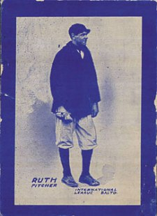 1914 Baltimore News Babe Ruth Rookie Card