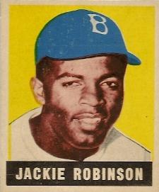 1949 Leaf Jackie Robinson Rookie Card