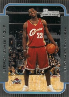 LeBron James Basketball Cards, Rookie Cards Checklist and Memorabilia Guide 21