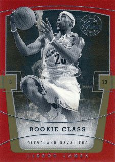 LeBron James Basketball Cards, Rookie Cards Checklist and Memorabilia Guide 22