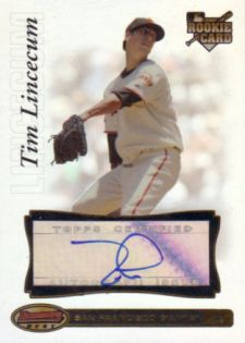 Tim Lincecum Cards, Rookie Cards and Autographed Memorabilia Guide 22