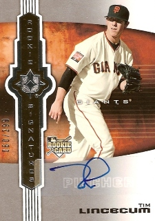 Tim Lincecum Cards, Rookie Cards and Autographed Memorabilia Guide 23