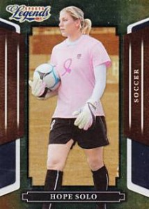 Hope Solo Cards, Rookie Cards and Autograph Memorabilia Buying Guide 1