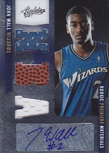 John Wall Cards, Rookie Cards and Autographed Memorabilia Guide 23