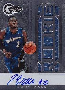 John Wall Cards, Rookie Cards and Autographed Memorabilia Guide 22