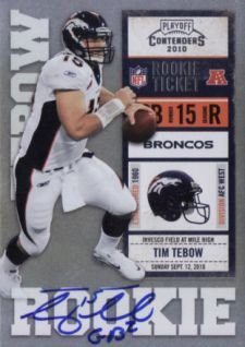 Tim Tebow Football Cards: Rookie Cards Checklist and Buying Guide 2