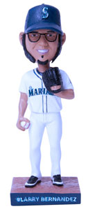 Larry Bernandez Bobblehead Giveaway in Seattle 1