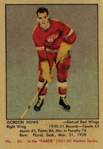 Gordie Howe Rookie Cards and Autographed Memorabilia Guide 1