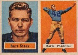 Bart Starr Football Cards, Rookie Card and Autograph Memorabilia Guide 1
