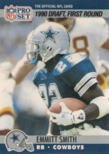 Emmitt Smith Cards, Rookie Cards Checklist and Autograph Memorabilia Guide 3