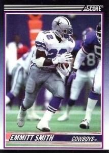 Emmitt Smith Cards, Rookie Cards Checklist and Autograph Memorabilia Guide 4