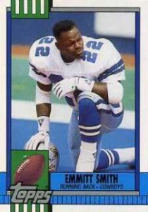 Emmitt Smith Cards, Rookie Cards Checklist and Autograph Memorabilia Guide 5