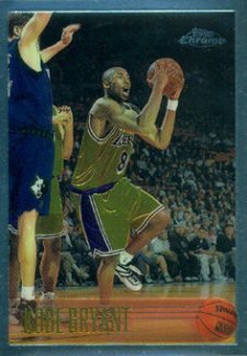 1996-97 Topps Chrome Basketball Kobe Bryant RC