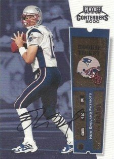 Tom Brady Football Cards, Rookie Card Checklist and Memorabilia Guide 23