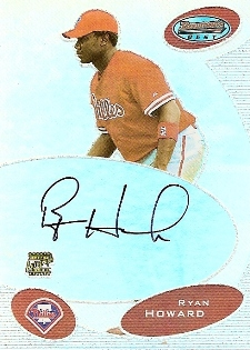 Ryan Howard Cards, Rookie Cards and Autographed Memorabilia Guide 3